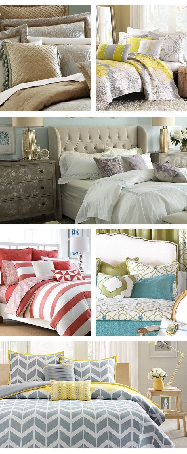 From colorful comforters to stylish furniture weu0027ll