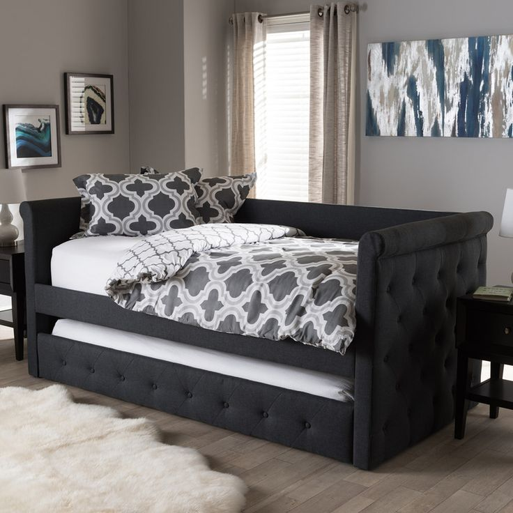 best 25 upholstered daybed ideas on pinterest daybeds daybed and nursery daybed. Black Bedroom Furniture Sets. Home Design Ideas