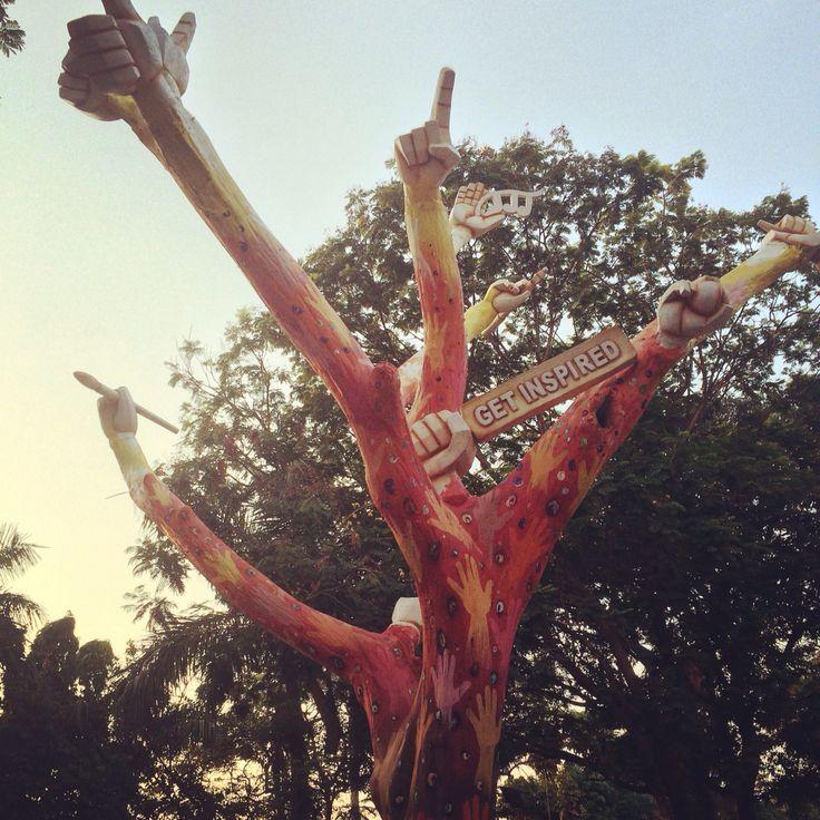 Get inspired.. Shivaji park Mumbai. Your daily dose of Motivation
