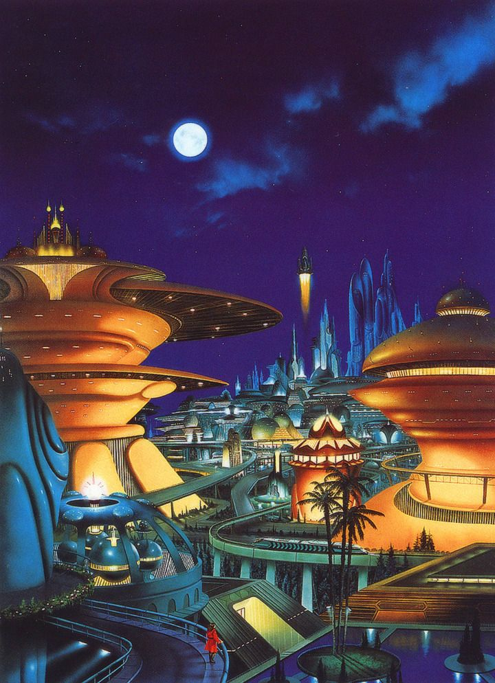 The Futuristic Age Of Retro Sci Fi Retro Futurism Retro