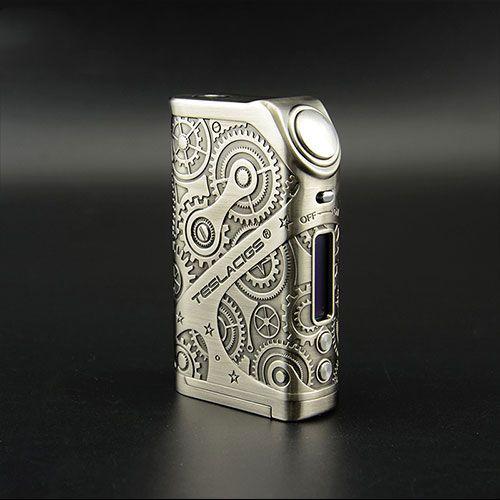 Tesla nano 120w steampunk box mod, welcome to wholesale.    Skype: sales07vapethink Whatsapp: +86 18566256210