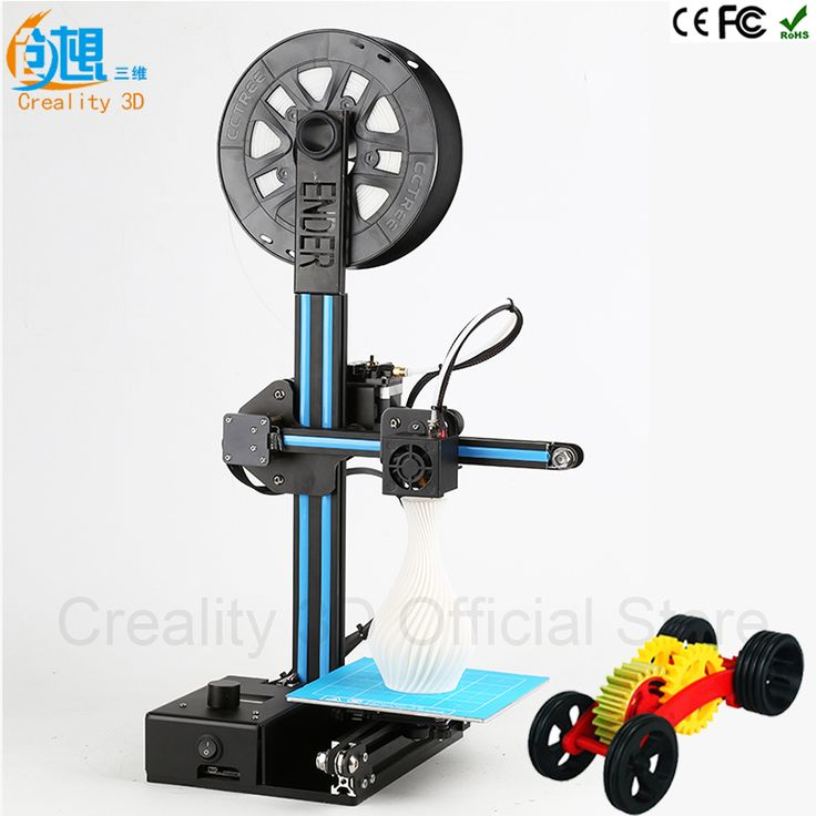 CREALITY 3D Printer Pulley Version Linear Guide DIY Kit Cheap 3D Printers Ender-2 Large Printing Size 3D Metal Printer Filaments //Price: $206.50//     #Gadget