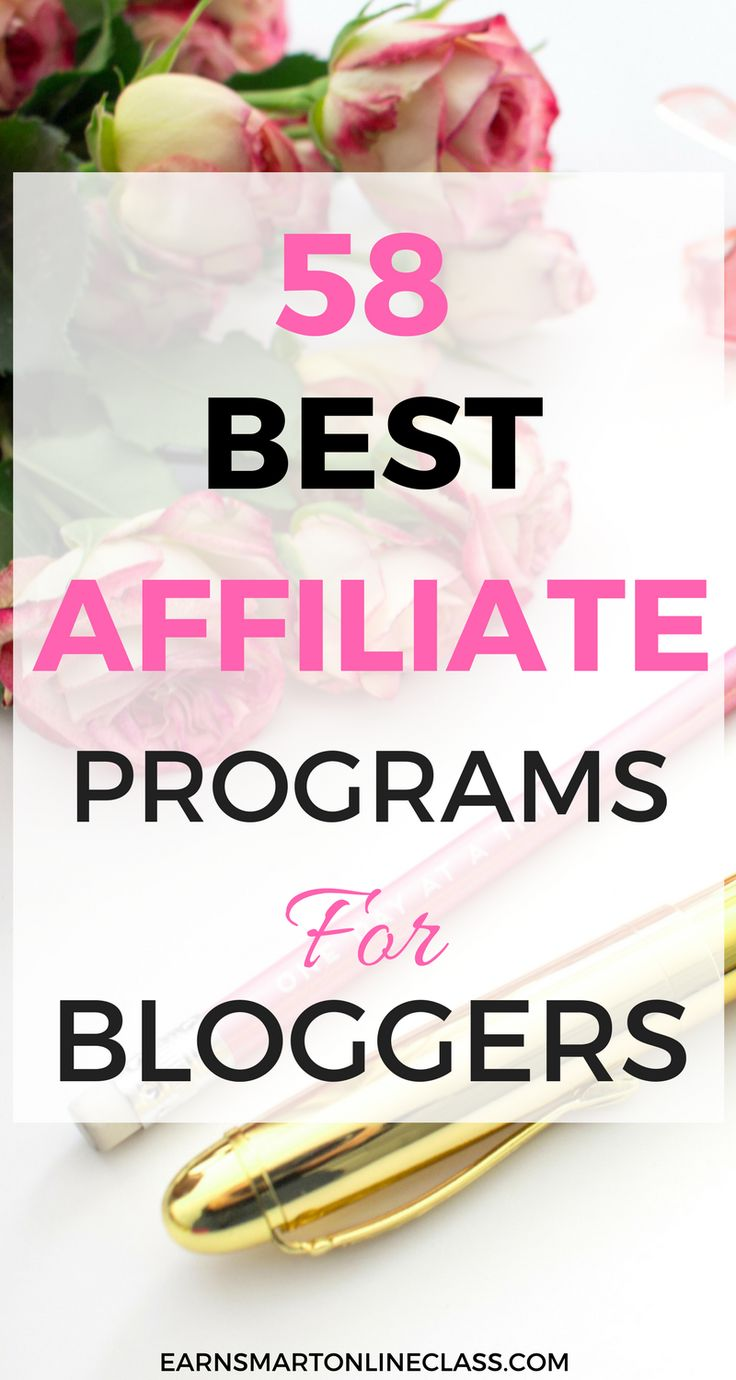 Are you a blogger or affiliate marketer looking for the best affiliate programs to promote? Here is a list of 58 top affiliate programs that you can promote and make sale commissions!