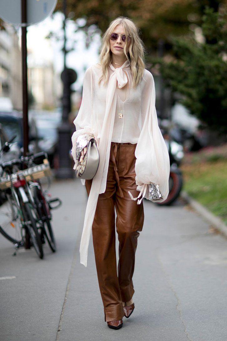 Street Style Pictures From Paris Fashion Week Spring 2017 | 100 Street Style Pictures From PFW You'll Want to Pin Immediately | POPSUGAR Fashion Australia Photo 76