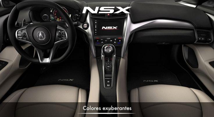 El NSX fue diseñado para ser el equilibrio perfecto entre potencia y manejo, forma y función, estilo deportivo y lujo. #NSXenLeon #ADNAcura