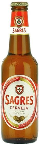 Sagres (Pale Lager) -- Pours golden with white head. Nose is light malt and grass. Tastes of small malt, grass, grainy, light herbal, and semi sweet finish. Moderate bitterness. Drinkable and not half bad for the what it is.