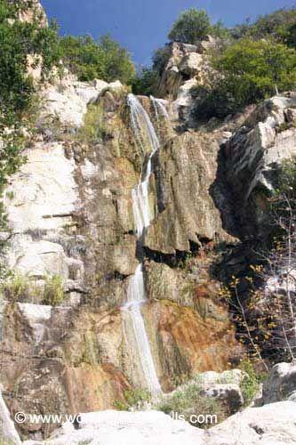 6. TANGERINE FALLS (WEST FORK COLD SPRINGS FALLS) [Los Padres National Forest, Santa Barbara County]