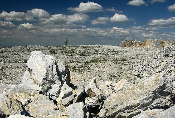 Moonlike landscape. Bél-kő, Bükkszentmárton #Hungary