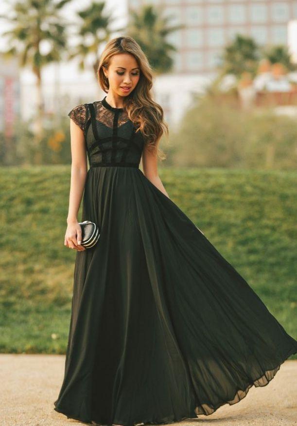Black Dress / formal / elegant / sexy / modisch