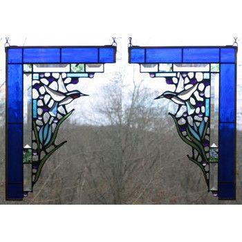406 Best Stained Glass Window Corners And Valances Images