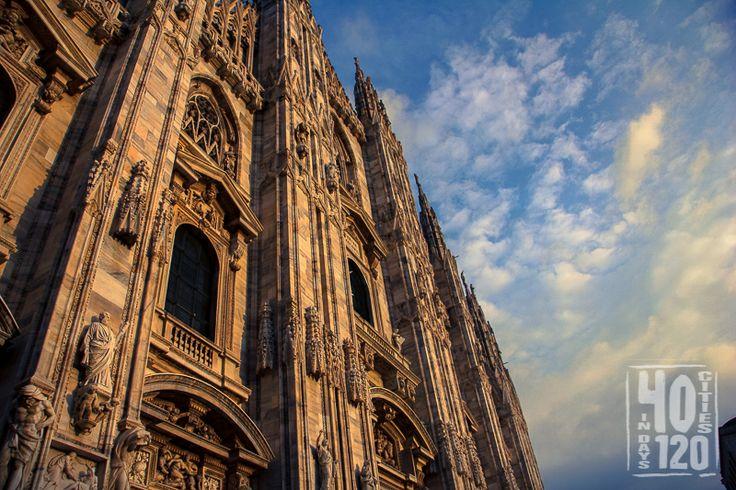 Gothic Duomo di Milano. Milan - Italy