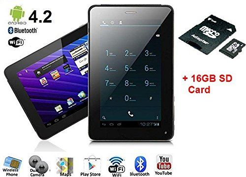 SVP 7-inch Phablet Smart Phone + Tablet PC Android 4.2.2 ...