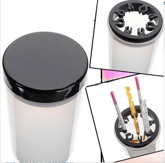 Brush Holder Cup/ Cleaning Bottle