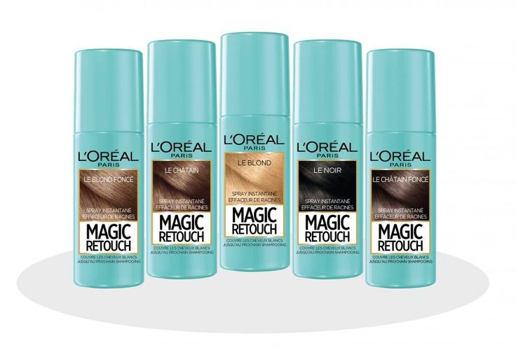 MAGIC RETOUCH - Temporoary grey coverage that lasts until shampooed out!  €9.40 in Magees.