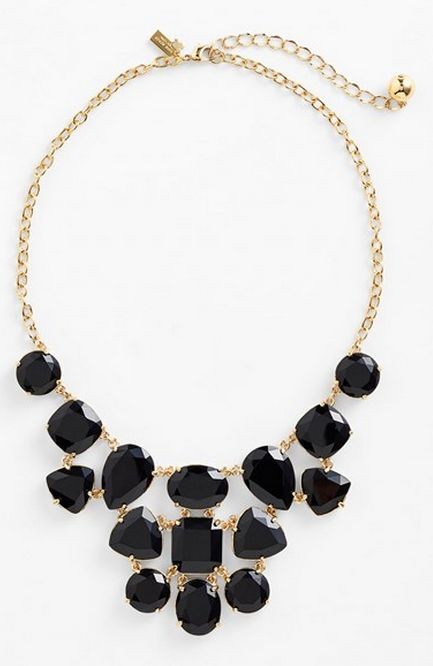 Gorgeous jewel bib necklace by kate spade new york http://rstyle.me/n/trbven2bn