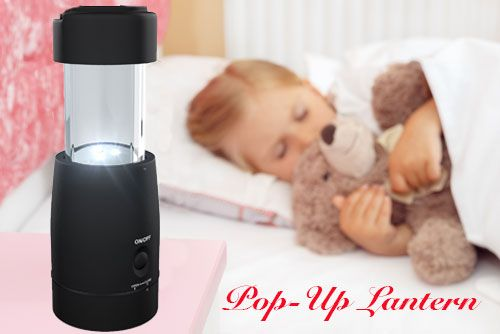 Perfect Children's Pop-Up Night Light
