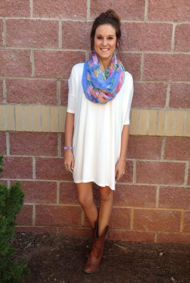 Piko short sleeve tunic #piko #pikotunic #lushfashionlounge