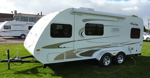 Light trailer Max 21 from Prolite Camping