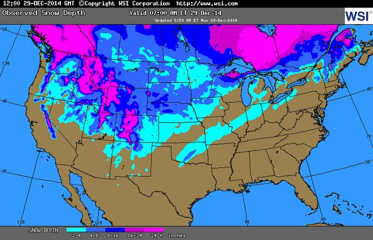 Current Snow Cover Map 21314 Mid Migration Outfitters A Snowy