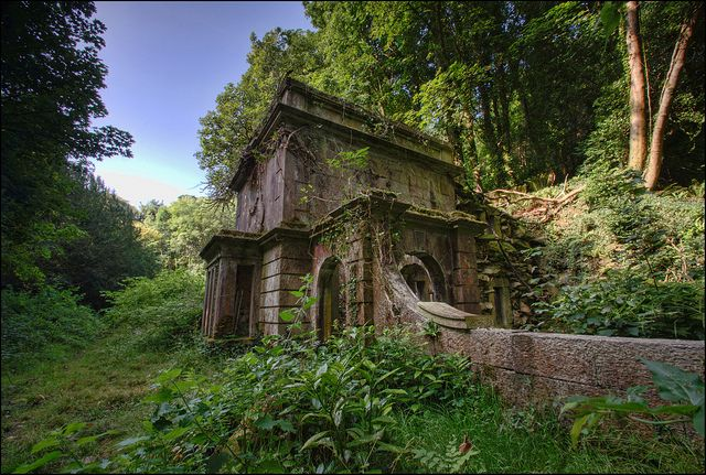 abandoned mansion in beaumaris