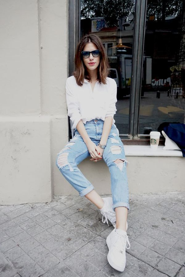 23 Outfit Ideas that Prove You Need a White Shirt