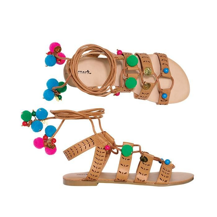 """mark. By Avon Havana Ball Sandals 