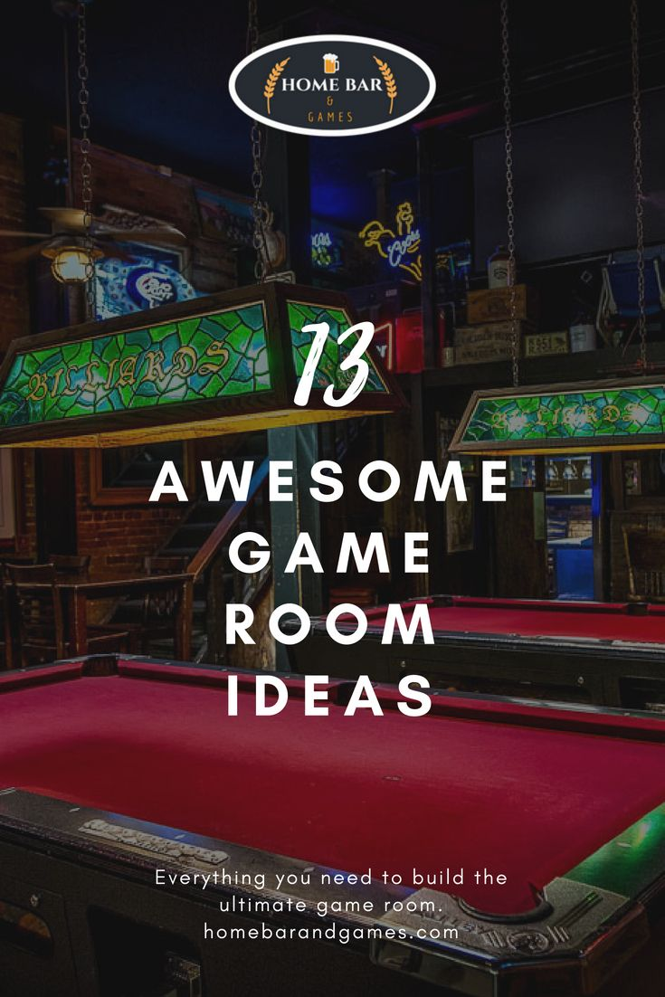 13 Best Game Room Ideas For The Ultimate Home Bar Or Game Room Game Room Man Cave Home Bar Bar Games Amazing ideas home bar game room