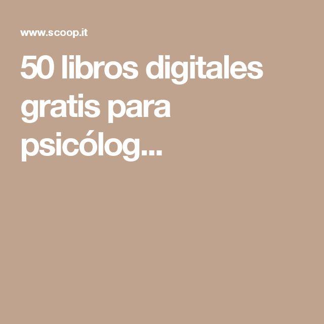 50 libros digitales gratis para psicólog...