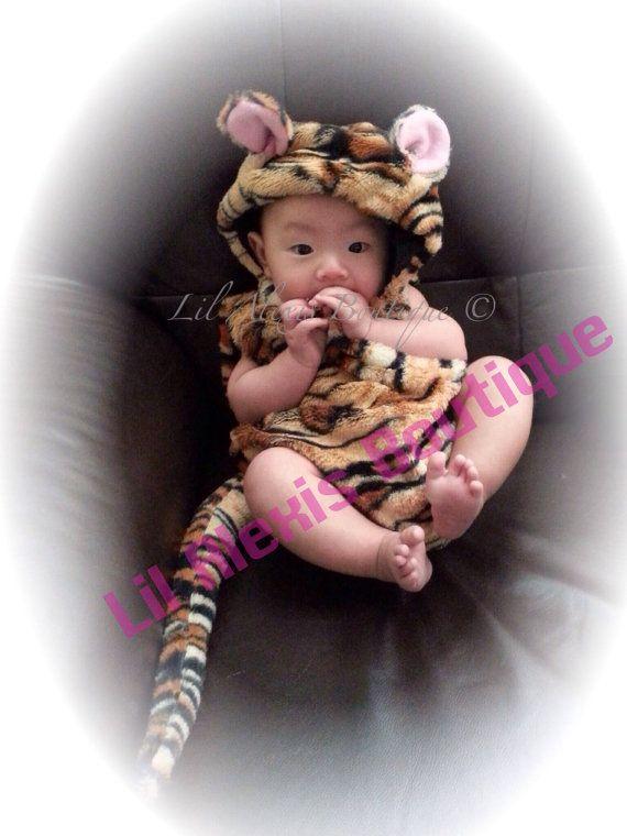 Halloween Sale Tiger newborn Halloween costume, infant Halloween costume, toddler, baby, boy, girl Halloween costume baby shower photo prop