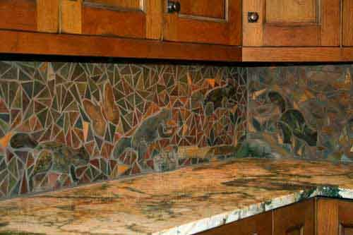 mosaic tiles kitchen backsplash 25 best images about backsplash on mosaics 7872