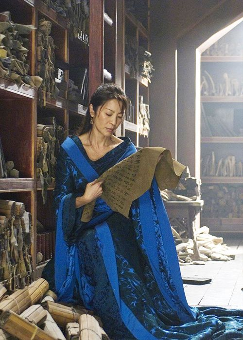 Michelle Yeoh in 'The Mummy: Tomb of the Dragon Emperor' (2008).