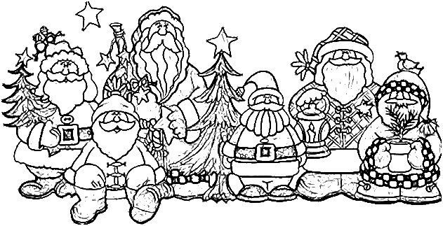 letter coloring pages 1359 best santa images on papa noel 1359