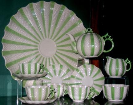 Belleek Pottery – King of the Déjeuner Set.