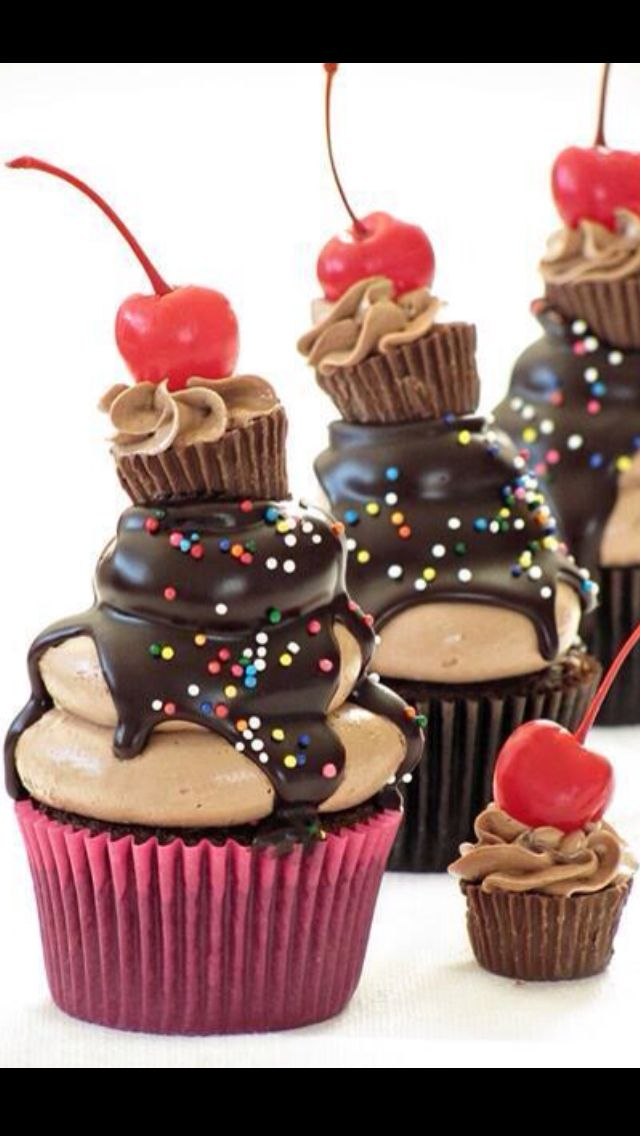 Creative Cupcakes! How cute is this ?
