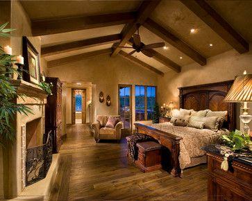 Italian Farmhouse - traditional - bedroom - phoenix - The Phil Nichols Company