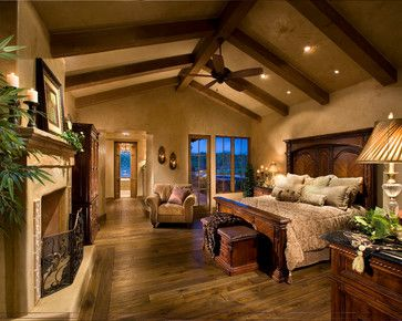Italian Farmhouse - traditional - bedroom - phoenix - The Phil Nichols Company