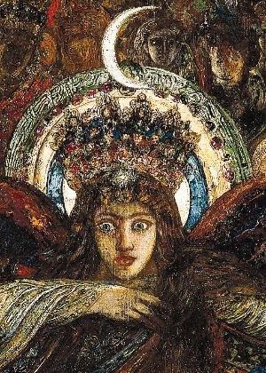 """Gustave Moreau : """"Sémélé"""", déesse de la Lune"""