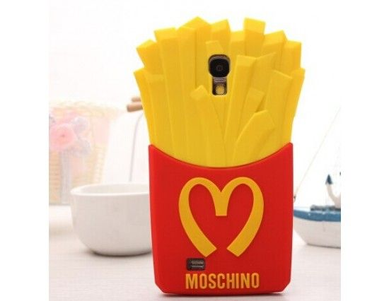 innovative design 1aedf fde79 Moschino McDonalds Fries Case for Samsung Galaxy S5 | Samsung Galaxy ...
