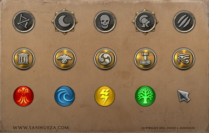 Game Icons - Immortal by TheArtOfSanhueza