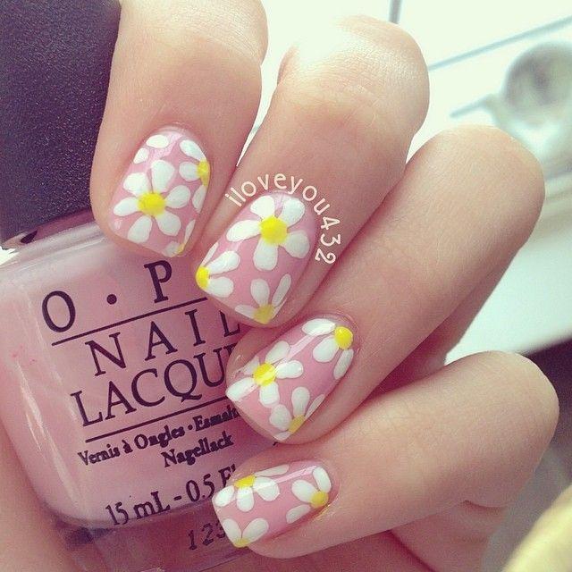 The Great Gatsby-Daisy Nails . . . right? iloveyou432 #nail #nails #nailart