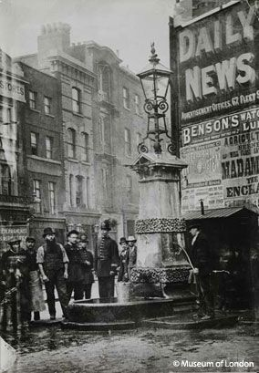 The Aldgate Pump, 1880 © Museum of London