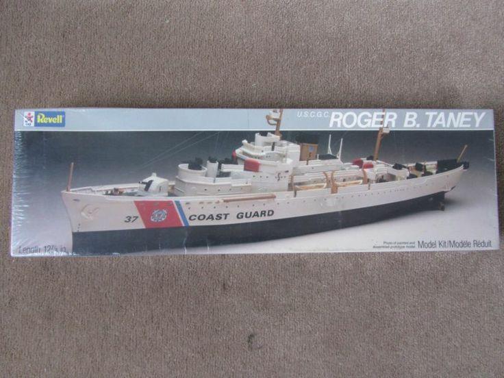 REVEL USCG ROGER B. TANEY MODEL KIT 5207 SEALED COAST GUARD CUTTER NOS SHIP 1984