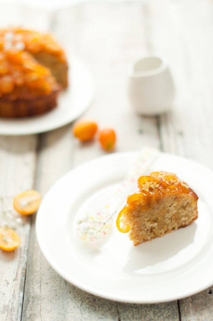 Candied Kumquat & Almond Cake