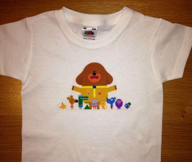 Hey Duggee boys/girls tshirt 2-3 years 100% cotton