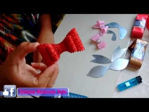 LAÇINHO EM TECIDO ENGOMADO + DICAS INICIANTES NO ARTESANATO,, Gummed fabric, - YouTube