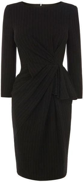 KAren Millen England Crepe Dress - Lyst