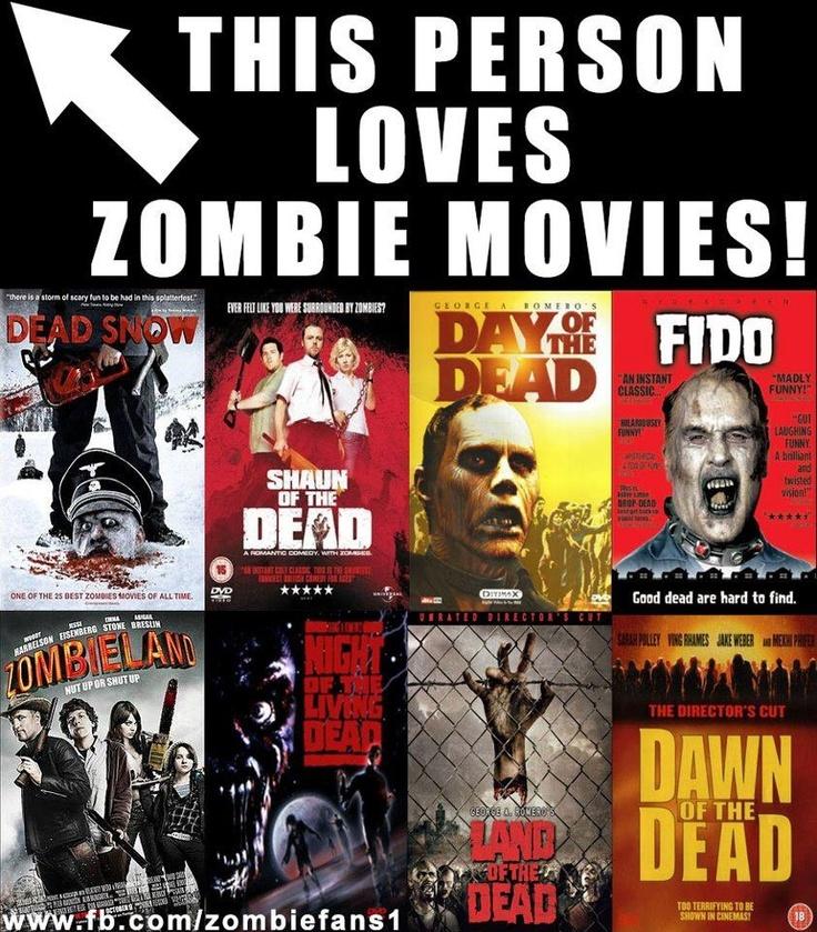 Loves zombie movies      Zombie Quarantine Zone   Quarantine Movie Zombie