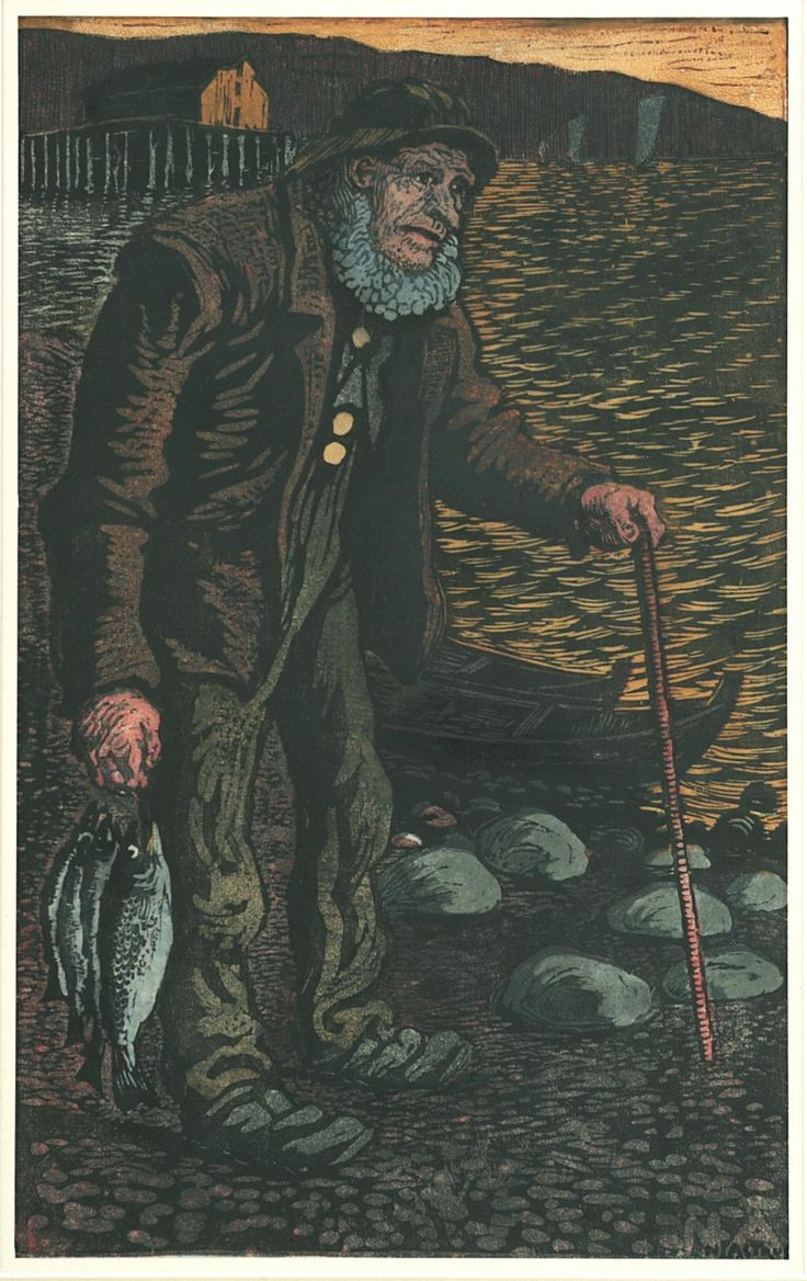 The Fisherman | Nikolai Astrup