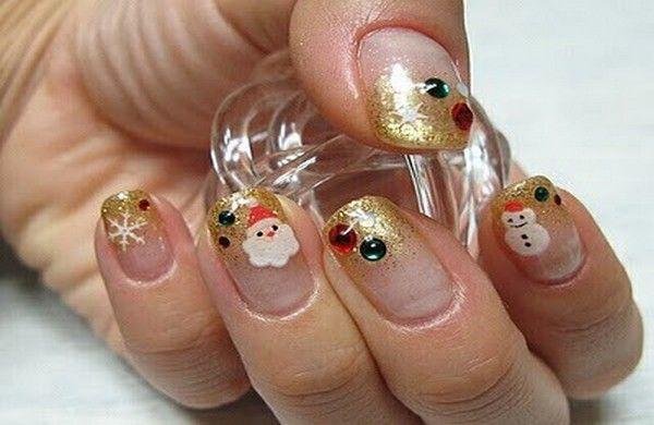 Christmas Nail Art Designs 2011