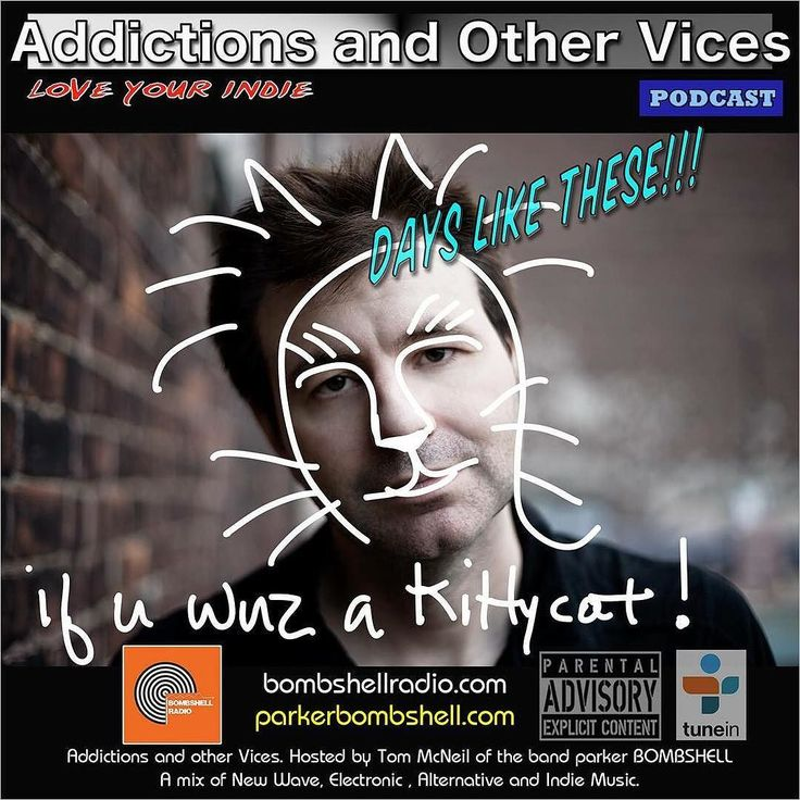 #today Addictions 325 #indie #indiepop #music #bombshellradio #rock #indierock #radioshow #ifyouwasakittycat #synthpop #alternative #nowplaying #loveyourindie #addictionspodcast #newmusic #mixcloud #tuneinradio #247radio  My girlfriend sent me this shot and I thought it might serve me well for tonights show. Still not sure how to make this work but once we fire up and hit record Im sure my catlike prowess will kick in and create magic or maybe Ill just be treading kitty litter. Who knows we…